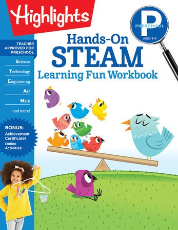 Learning Fun Workbook STEAM PreK